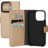 Mobiparts Saffiano Wallet iPhone 13 Pro hoesje Koper