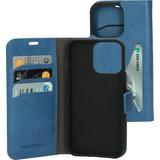 Mobiparts Classic Wallet iPhone 13 mini hoesje Blauw