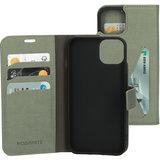 Mobiparts Classic Wallet iPhone 13 mini hoesje Groen