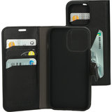 Mobiparts Classic Wallet iPhone 13 Pro Max hoesje Zwart