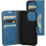 Mobiparts Classic Wallet iPhone 13 Pro Max hoesje Blauw
