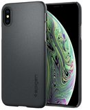 Spigen Thin Fit iPhone XS hoesje Grijs