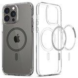 Spigen Ultra Hybrid MagSafe iPhone 13 Pro Max hoesje Grijs