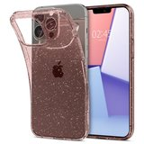 Spigen Liquid Crystal iPhone 13 Pro Max hoesje Glitter Rose