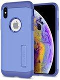 Spigen Slim Armor iPhone XS hoesje Paars