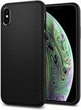 Spigen Liquid Air iPhone XS hoesje Zwart