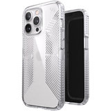 Speck Presidio Perfect Clear Grip iPhone 13 Pro hoesje Transparant
