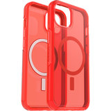 Otterbox Symmetry MagSafe iPhone 13 hoesje Rood