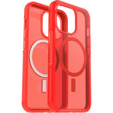 Otterbox Symmetry MagSafe iPhone 13 Pro hoesje Rood