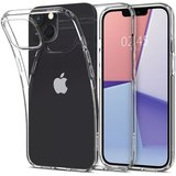 Spigen Crystal Flex iPhone 13 mini hoesje Transparant