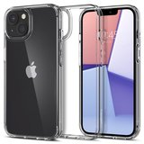Spigen Crystal Hybrid iPhone 13 mini hoesje Transparant