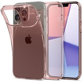 Spigen Crystal Flex iPhone 13 Pro hoesje Rose