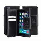 Bugatti Leather BookCover Adam iPhone 6/6S Black