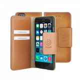 Bugatti Leather BookCover Adam iPhone 6/6S Cognac