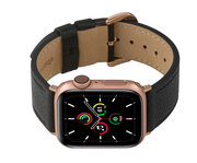 dbramante1928 Mode Apple Watch 41 / 40 / 38 mm bandje Nachtzwart