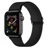 Tech Protection Mellow Apple Watch 45 / 44 / 42 mm bandje Zwart