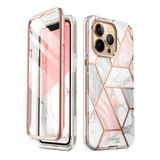 Supcase Cosmo iPhone 13 Pro hoesje Marble