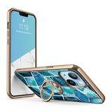 Supcase Cosmo Snap iPhone 13 hoesje Blauw