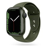 TechProtection siliconen Apple Watch 45 / 44 / 42 mm bandje Groen