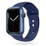 TechProtection siliconen Apple Watch 41 / 40 / 38 mm bandje Donkerblauw