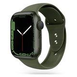 TechProtection siliconen Apple Watch 41 / 40 / 38 mm bandje Groen