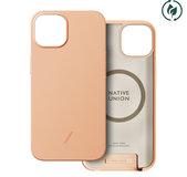 Native Union Clic Pop iPhone 13 hoesje Peach