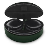 Woolnut AirPods Max Leather case Groen