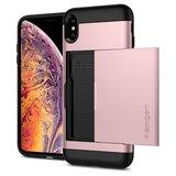 Spigen Slim Armor CS iPhone XS Max hoesje Roze