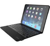 ZAGGKeys Folio Backlit Keyboard case iPad Air 2 Black