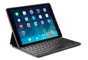 Decoded Leather Keyboard iPad Air 2 hoes Zwart