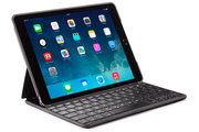 Decoded Leather Keyboard iPad Air 2 hoes Bruin