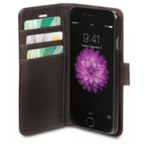 dbramante1928 Leather Copenhagen Wallet iPhone 6/6S Brown