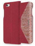 LAUT K-Folio Bookcase iPhone 6/6S Red