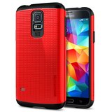 Spigen Slim Armor case Galaxy S5 Red