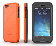 Dog & Bone Wetsuit case iPhone 6 Plus Orange