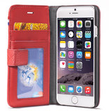 Decoded Leather Wallet case iPhone 6/6S Red