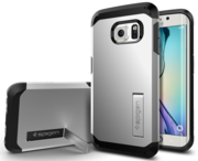 Spigen Tough Armor Galaxy S6 Edge Silver