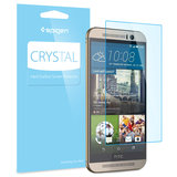 Spigen Crystal One M9 screenprotector