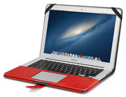 Decoded Leather case Air 13 inch Red