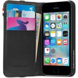 Decoded Leather Wallet case iPhone 5S/SE Black