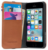 Decoded Leather Wallet case iPhone 5S/SE Brown