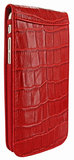 Piel Frama Croco Magnetic case iPhone 6/6S Red