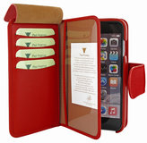 Piel Frama WalletMagnum iPhone 6/6S Red