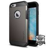 Spigen Tough Armor iPhone 6/6S hoesje Gun Metal