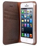 Melkco Herman Wallet case iPhone 5S/SE Brown