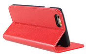 i-Chi Leather Slim Book iPhone 6/6S case Red