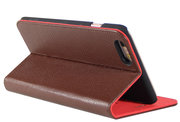 i-Chi Leather Slim Book iPhone 6/6S Plus case Brown
