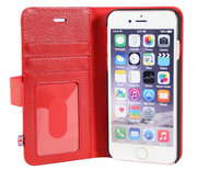 i-Chi Leather Wallet iPhone 6/6S case Red