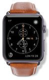 dbramante1928 Leather Watch 44 / 42 Bandje Tan / Grijs
