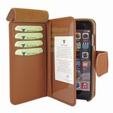 Piel Frama WalletMagnum iPhone 6/6S Plus Tan